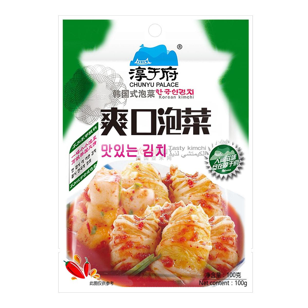 淳于府 韩国式泡菜 爽口泡菜 100g