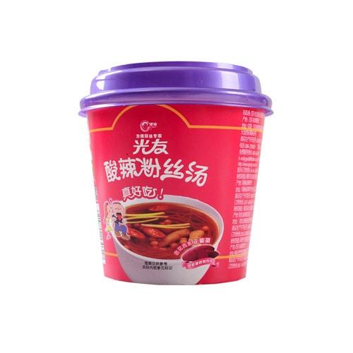 光友 方便紫薯粉丝 酸辣粉丝汤 桶装 45g