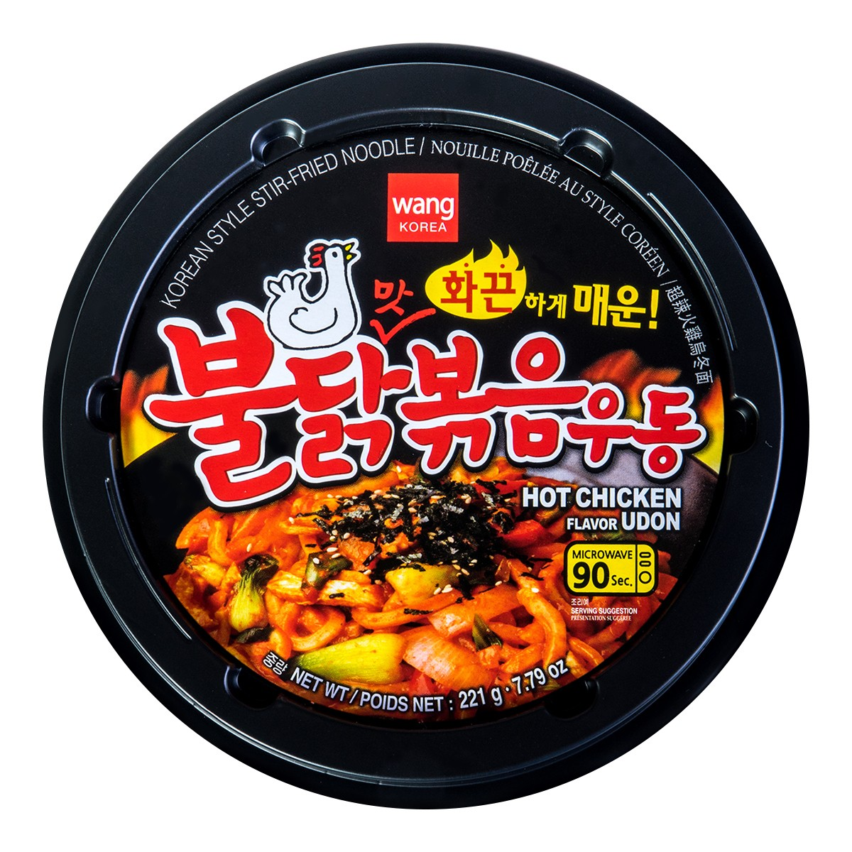 Wang Spicy Chicken Flavor Noodle Cup 221g