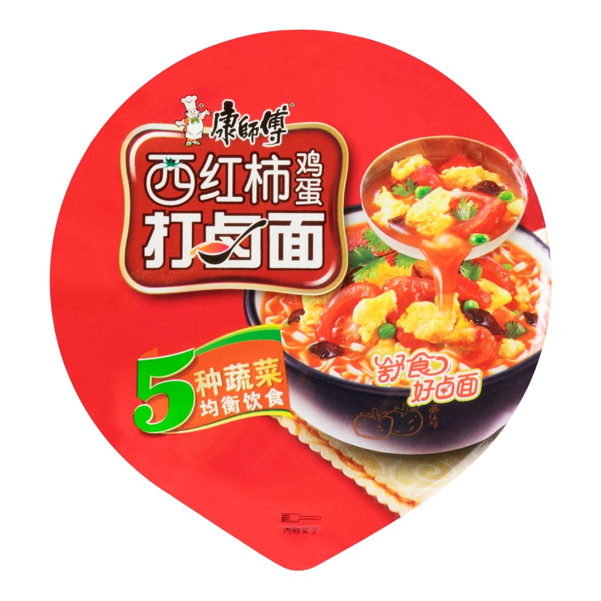 康师傅 西红柿鸡蛋打卤面 桶面 108g