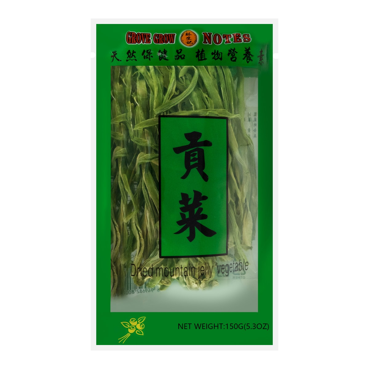 LAM SHENG KEE Dried Mountain Jelly Vegetable 150g
