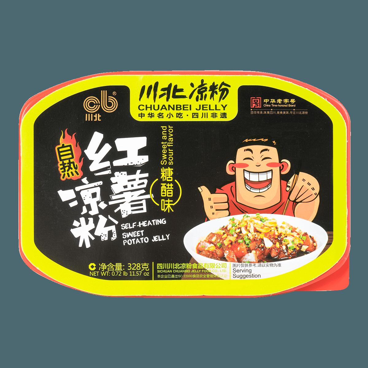 川北凉粉 自热红薯凉粉 糖醋味 328g