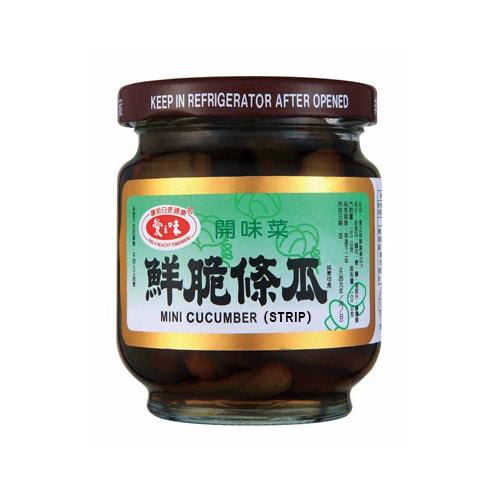 台湾爱之味 饭前开胃菜 鲜脆条瓜 180g