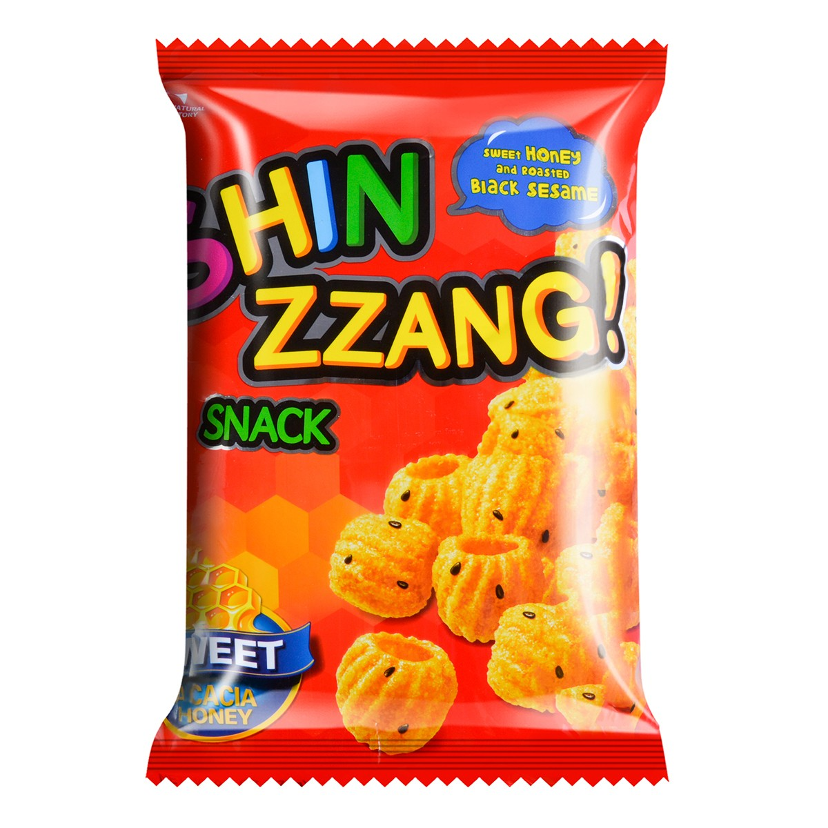 CROWN SHIN ZZANG Snack Sesame&Honey 275g