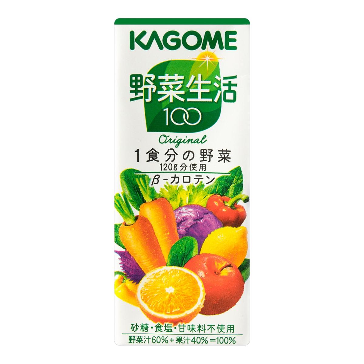 日本KAGOME野菜生活 21种蔬菜+3种水果维生素补给果汁 200g