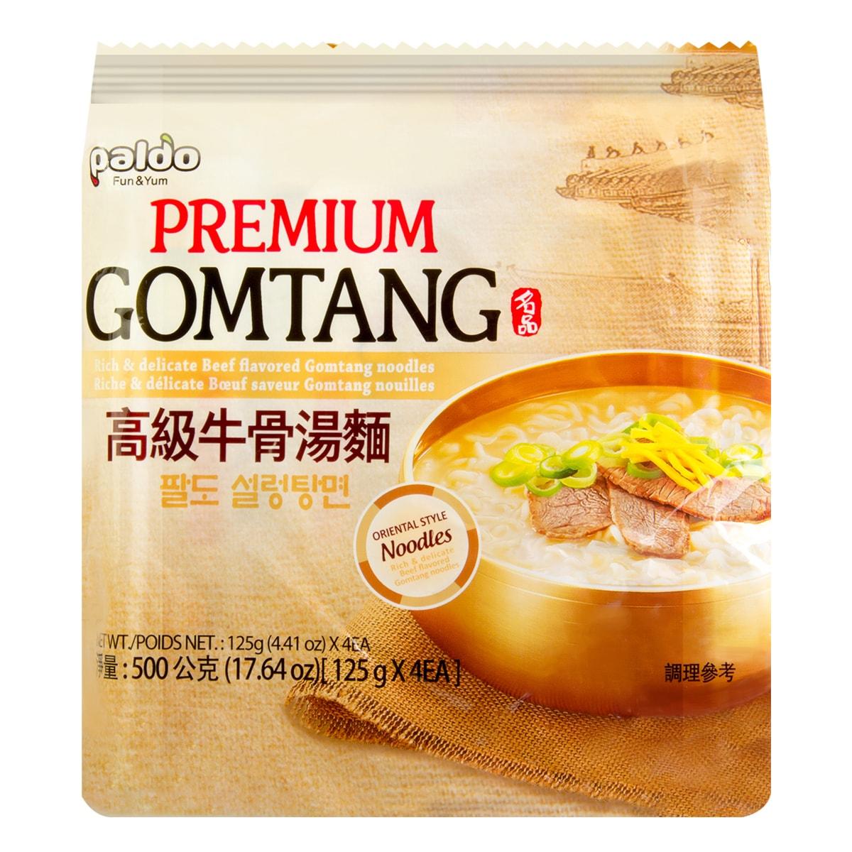 PALDO Premium Gomtang 4 Packs