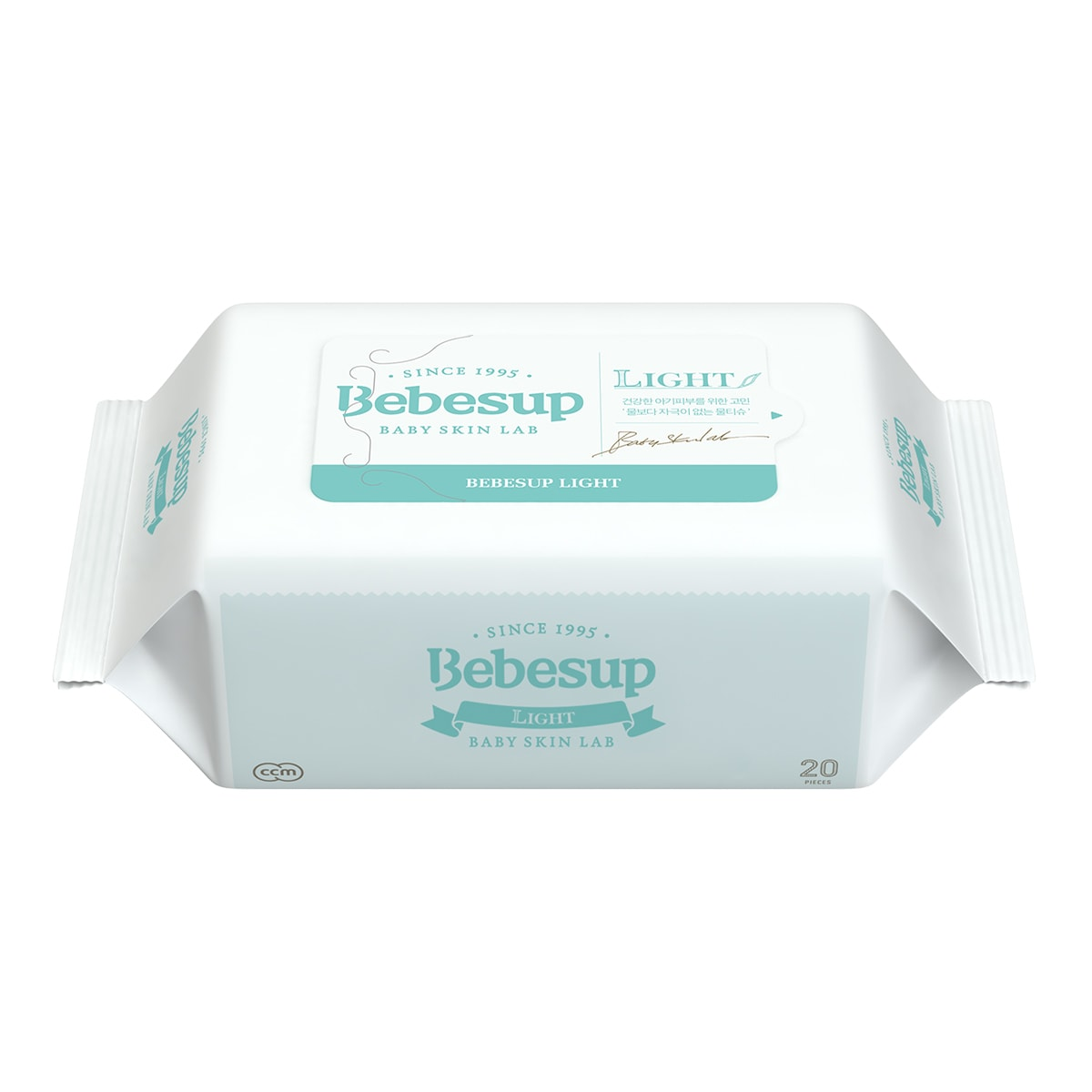 BEBESUP Baby Wipes Light Type Travel Size 20sheets