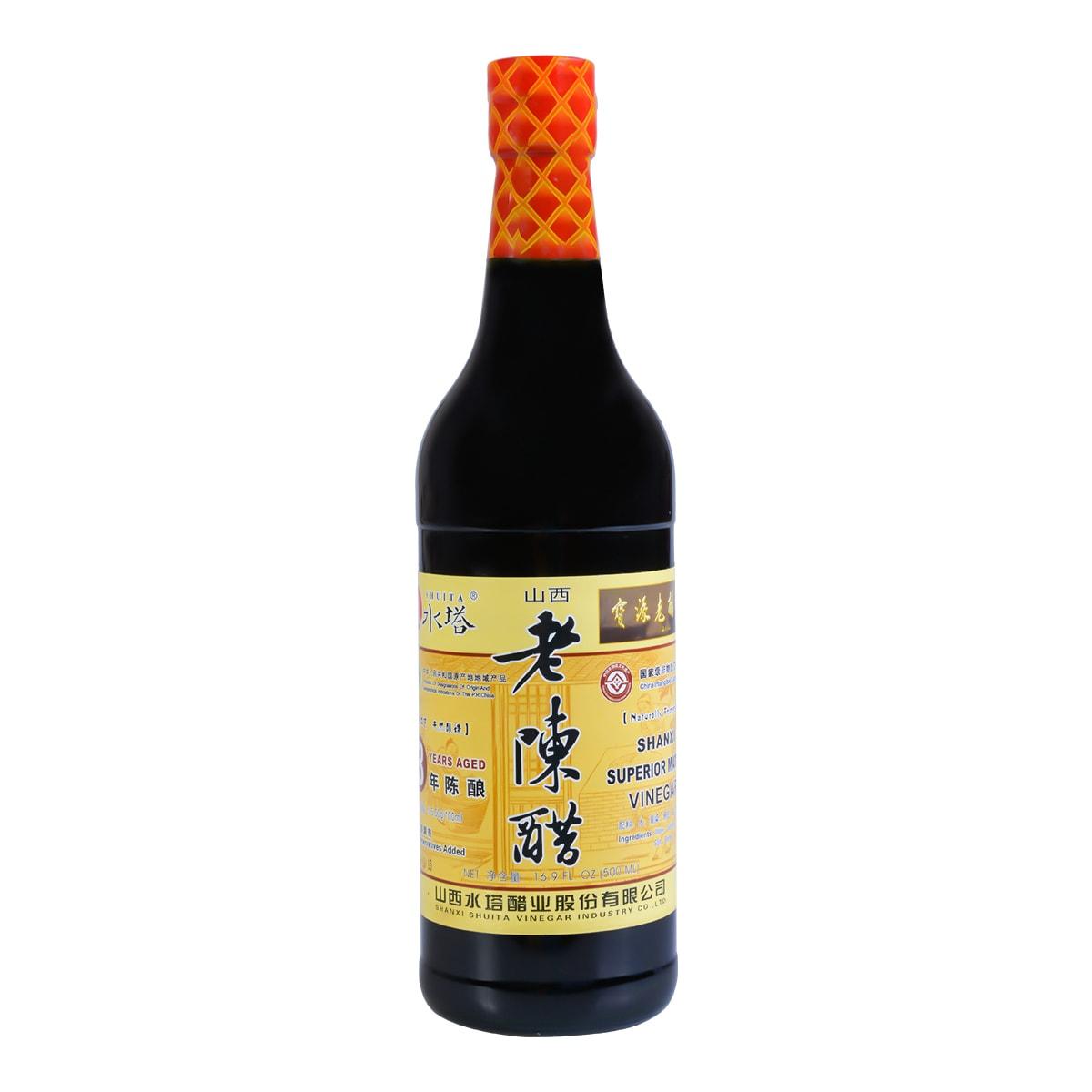 SHUITA Shanxi Superior Mature Vinegar 3 Years Aged 500ml