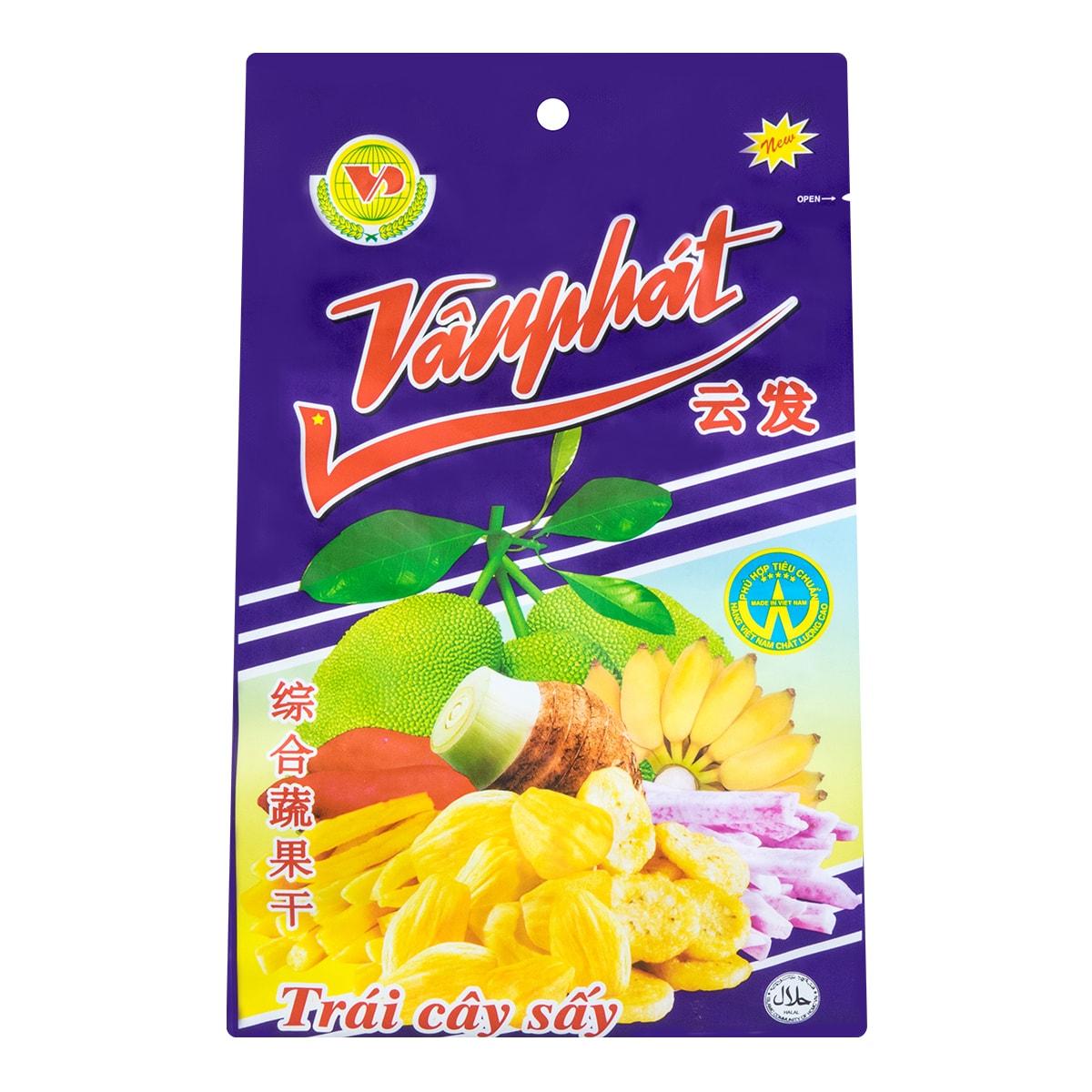 越南VANPHAT云发 混合综合蔬果干 250g 越南特产