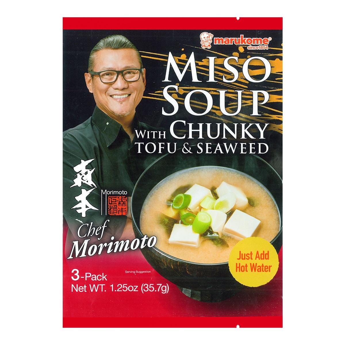 日本MARUKOME 味噌汤 豆腐海藻味 35.7g