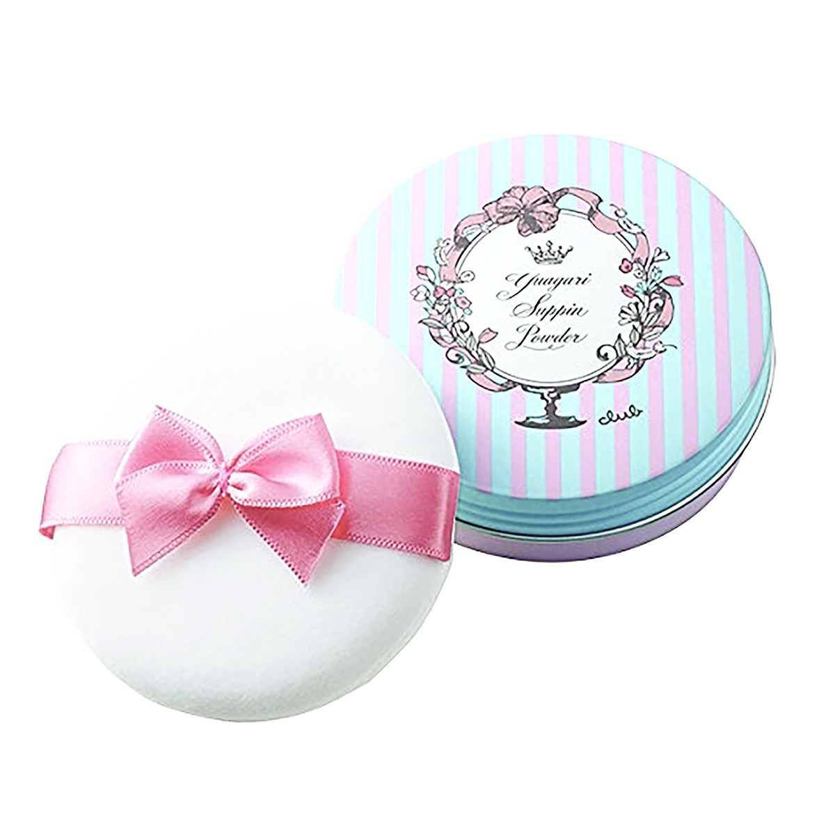 日本CLUB 出浴素颜美白保湿护肤蜜粉饼 #玫瑰香 26g COSME大赏受赏