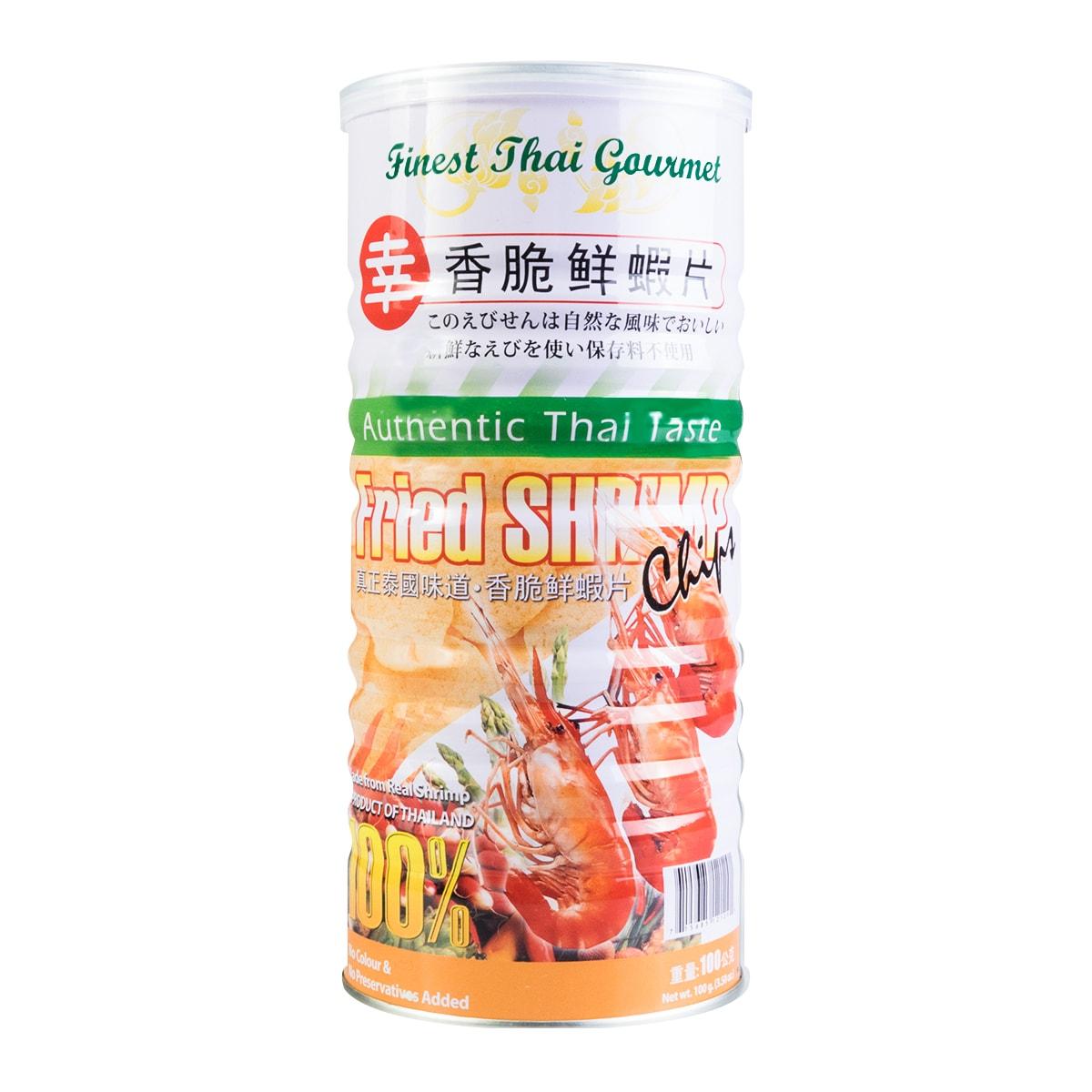 泰国味道  香脆鲜虾片  100g