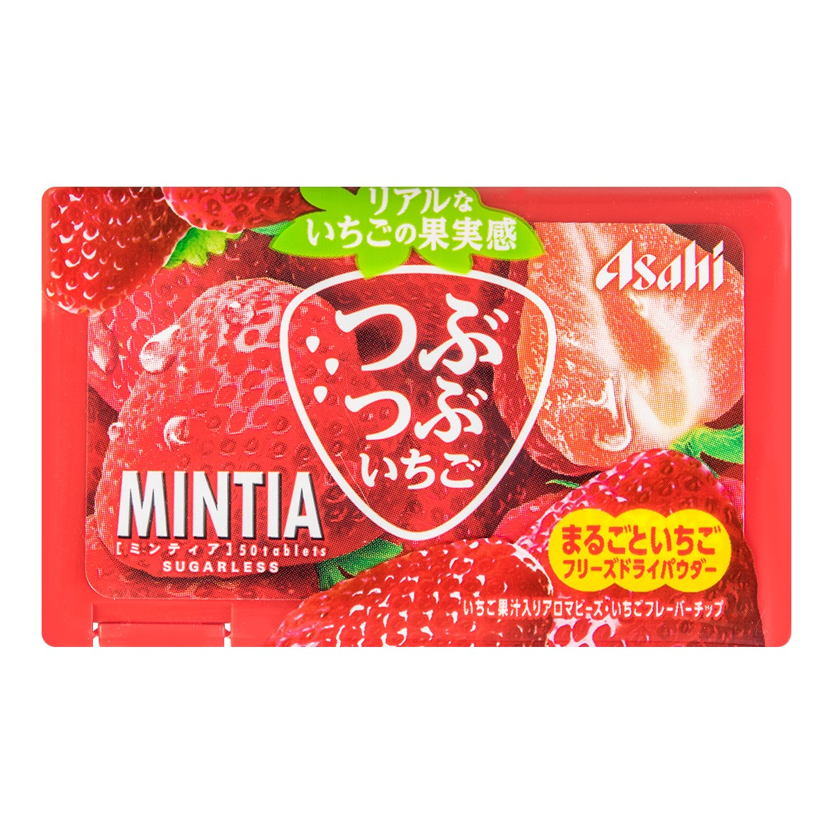 ASAHI Shokuhin MINTIA Strawberry 7g