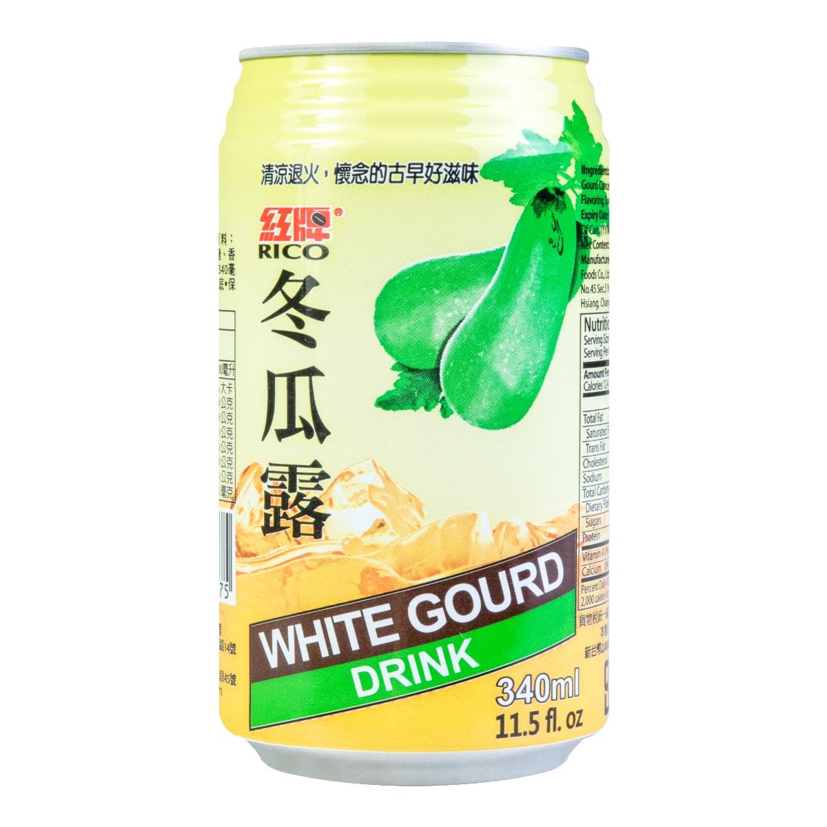 台湾RICO红牌 冬瓜露 340ml