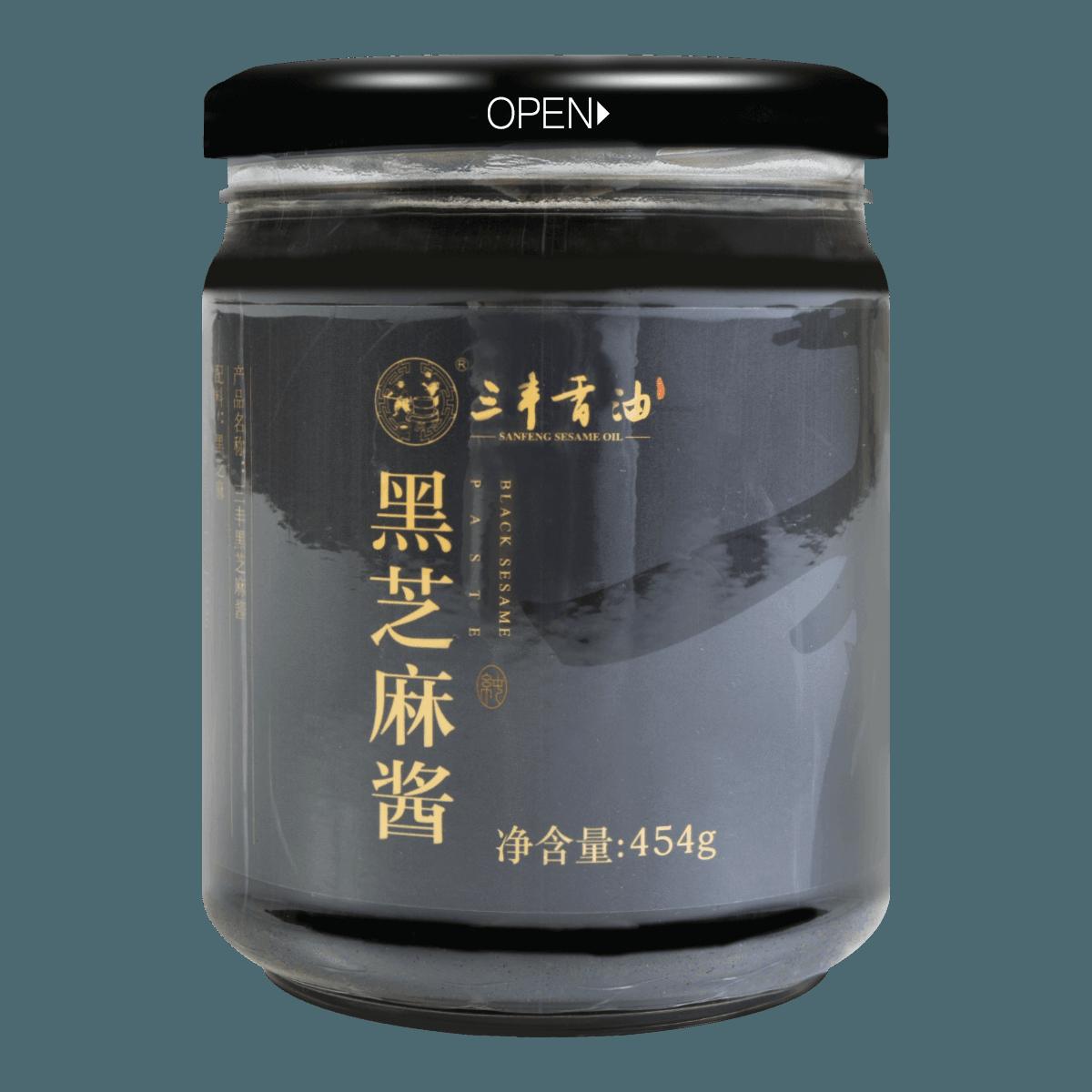 三丰香油 黑芝麻酱 454g