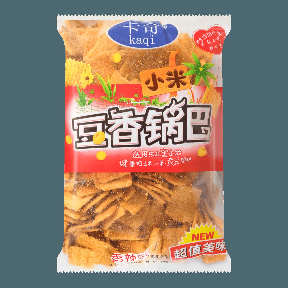 卡奇 小米豆香锅巴 香辣味 280g