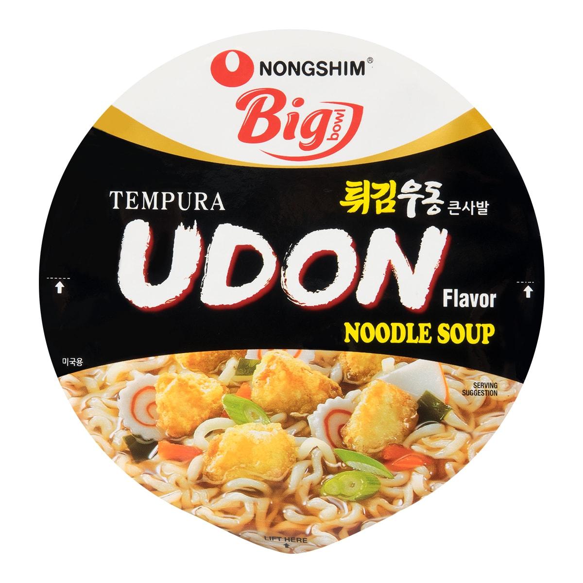 NONGSHIM Tempura Udon Noodle Bowl 114g