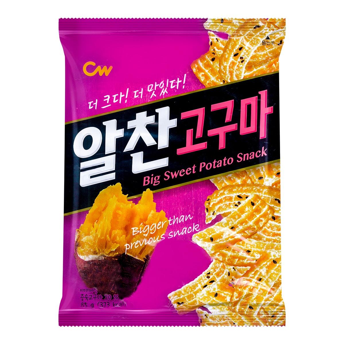 韩国CW  红薯薯片  85g