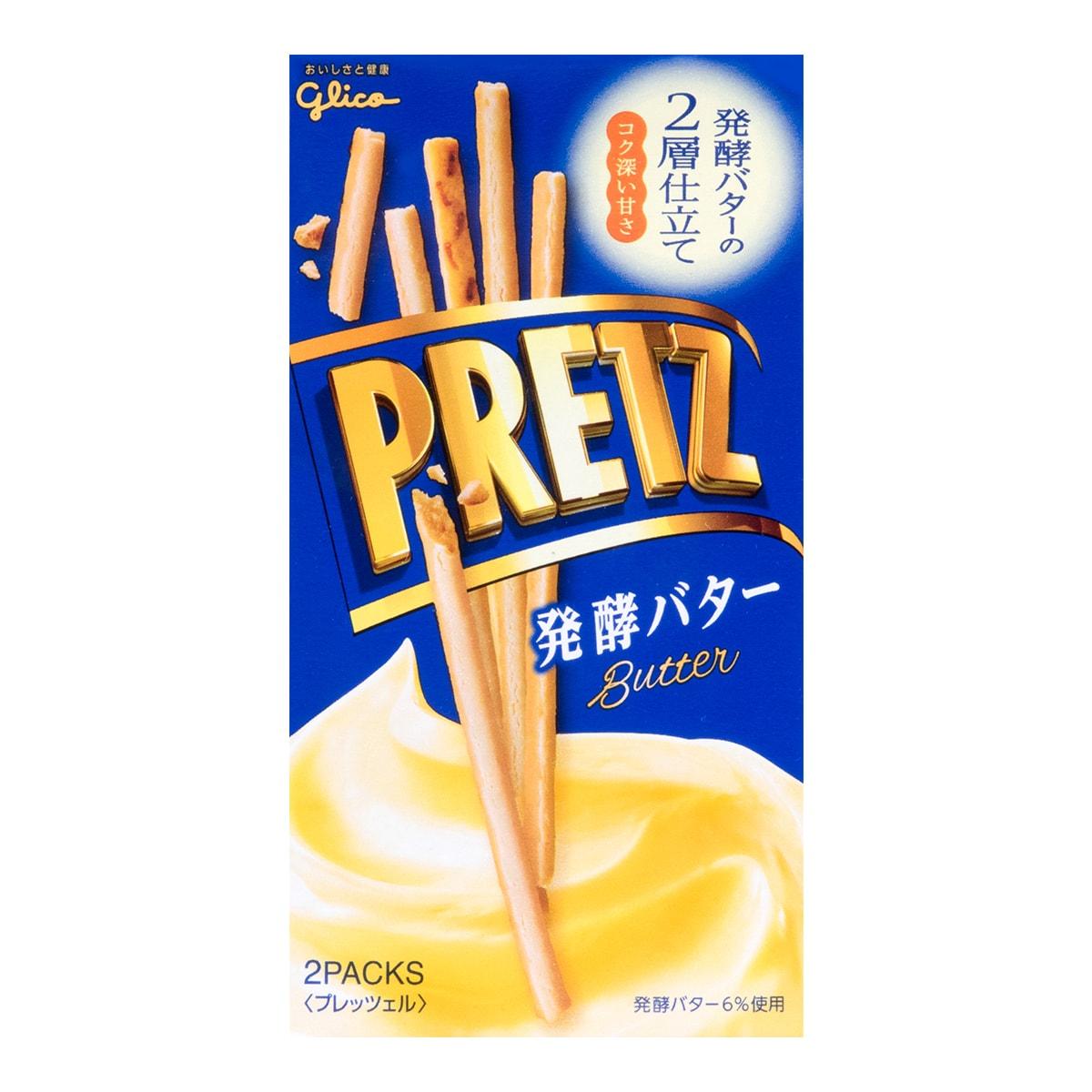 日本GLICO格力高 PRETZ百力滋 发酵黄油饼干棒 2包入 60g