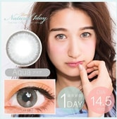 日本LUNA Natural 1Day Aqua 日抛美瞳 零度 10片入