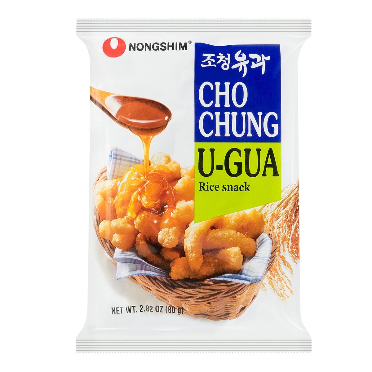 韩国NONGSHIM农心 天然蜂蜜大米脆条 80g