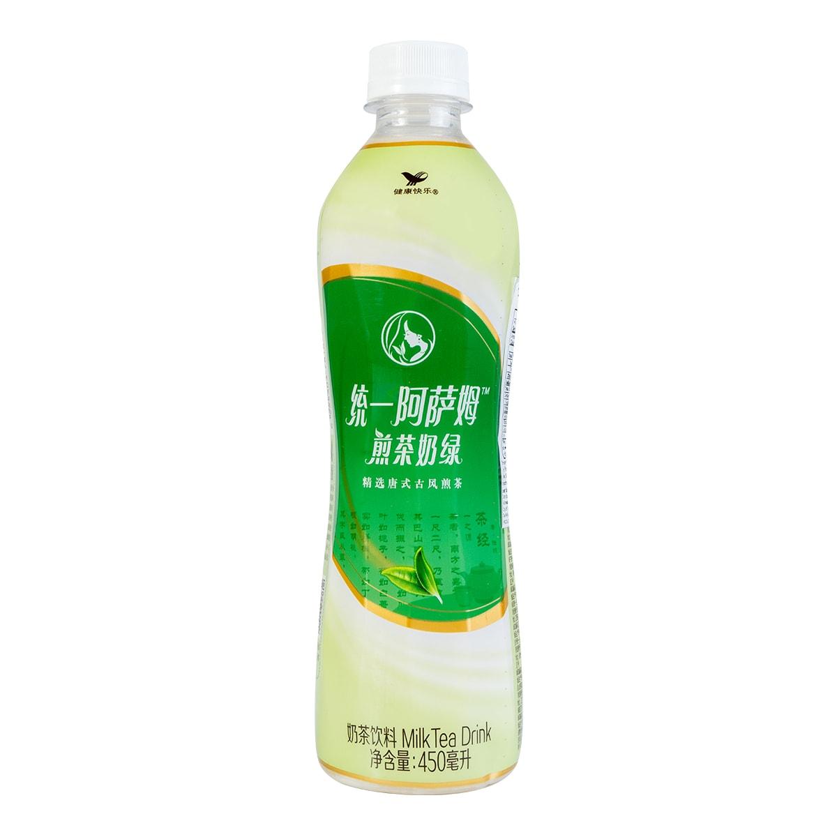 台湾统一 阿萨姆煎茶奶绿 450ml