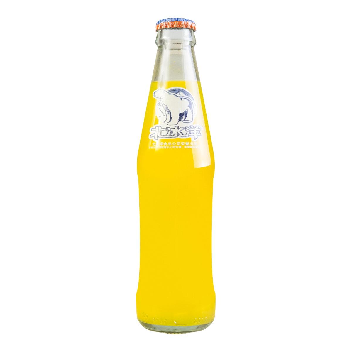 北冰洋 橘子味汽水 瓶装 248ml 老北京汽水