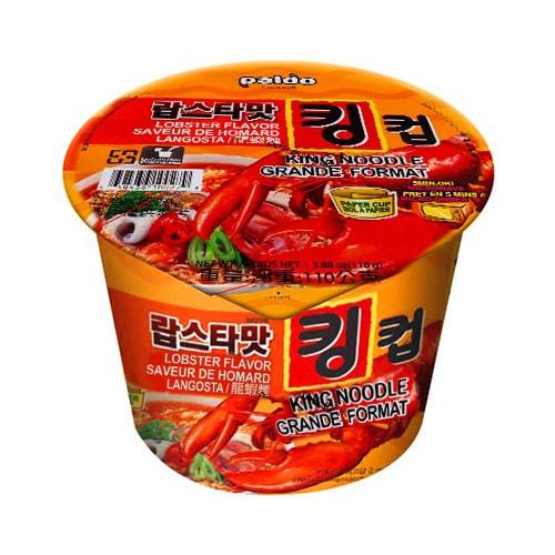 韩国PALDO八道 御膳龙虾面 碗装 110g