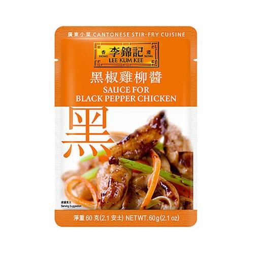 香港李锦记 中国名菜系列之黑椒鸡柳酱 60g