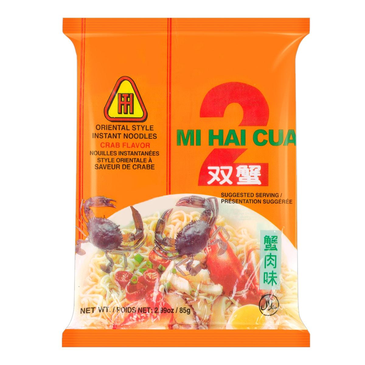 达辉 双蟹方便面 蟹肉味 85g