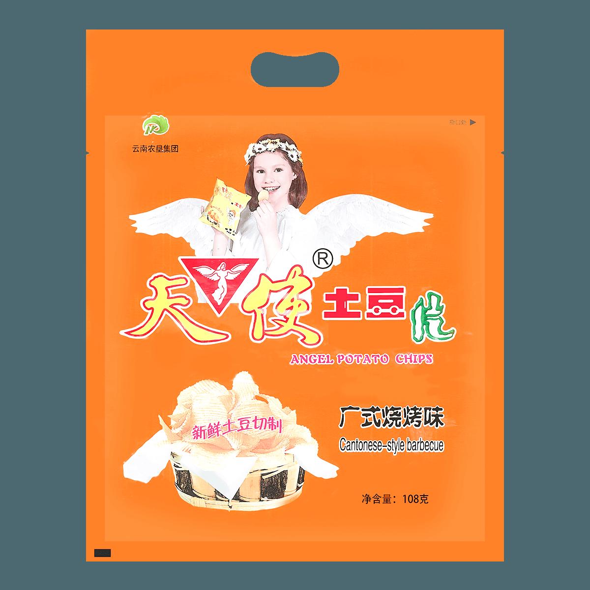 天使 土豆片 广式烧烤味 108g