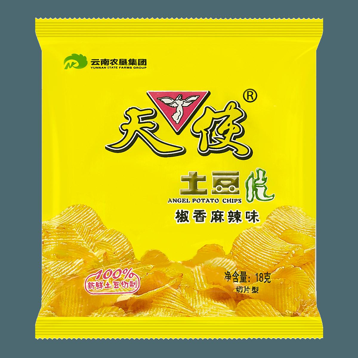 天使 土豆片 椒香麻辣味 18g