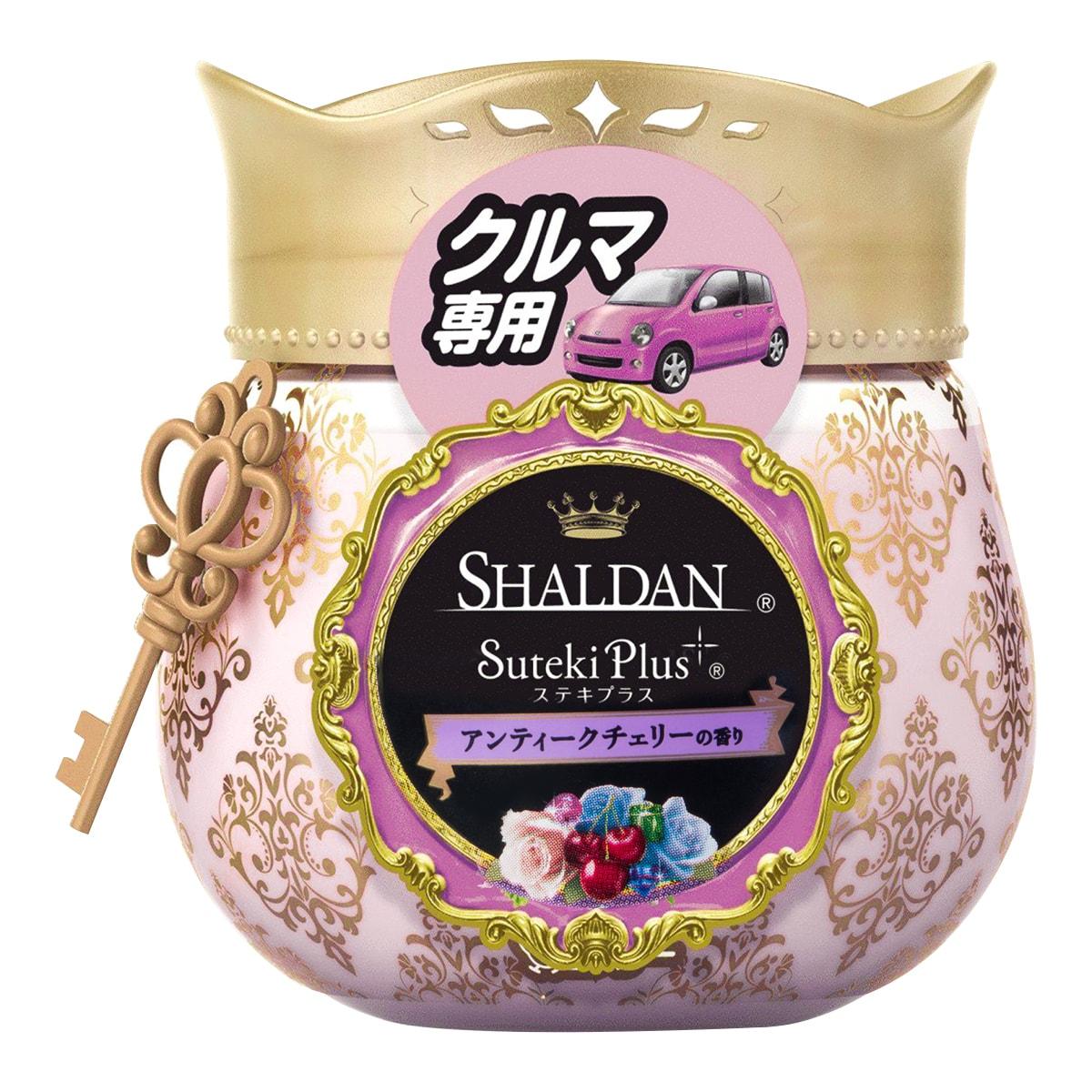 日本ST鸡仔牌 SHALDAN 车用梦幻香水果冻芳香剂 #甜蜜樱桃 90g