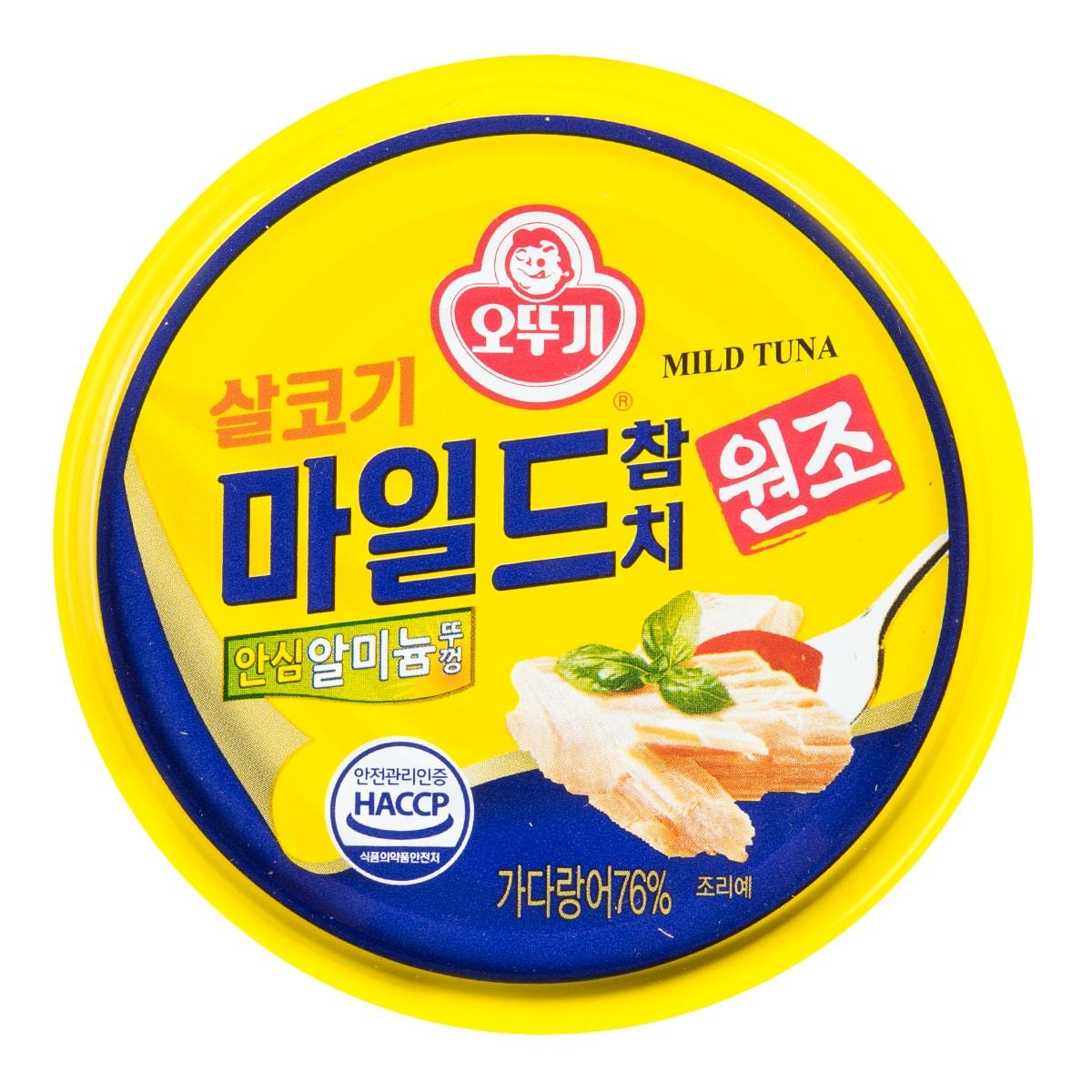 韩国OTTOGI不倒翁 金枪鱼罐头 微辣 150g