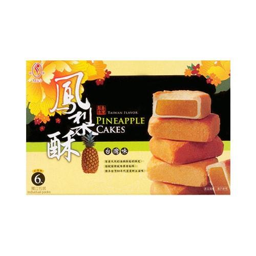 台湾明奇 传承凤梨酥 6枚入 台湾特产