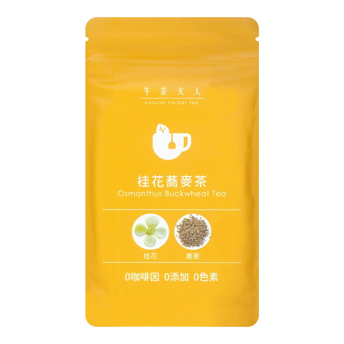 台湾午茶夫人 桂花荞麦茶 10包入 26g