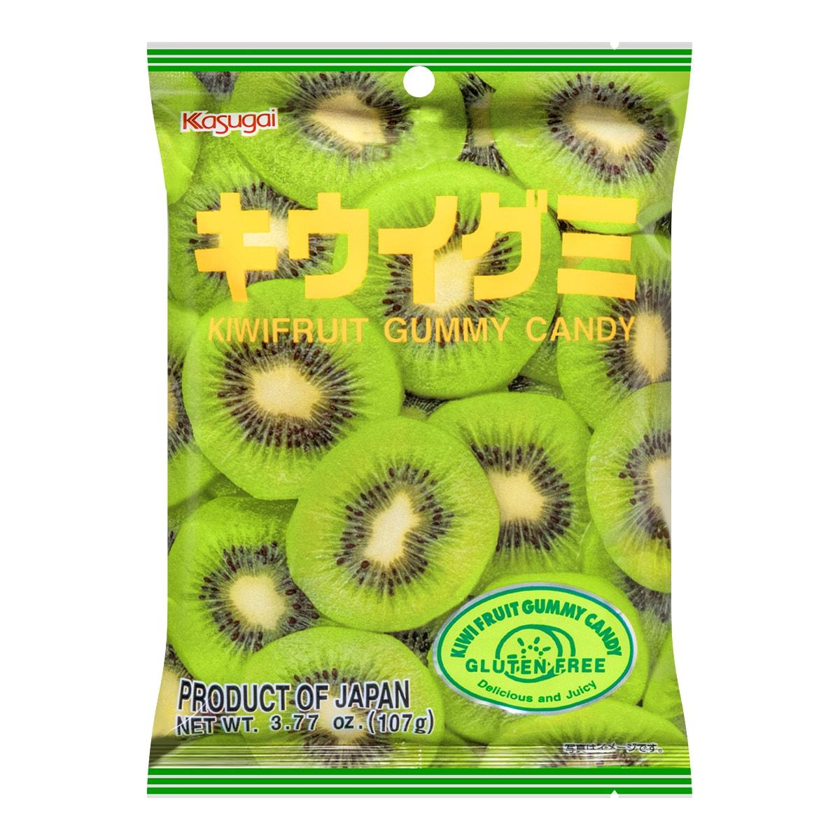 KASUGAI Kiwifruit Gummy Candy 107g