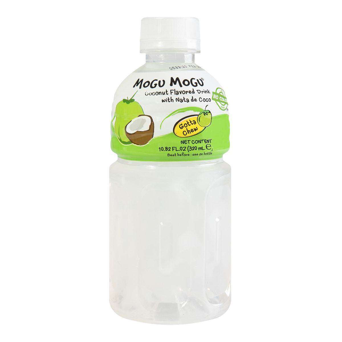 泰国MOGU MOGU 果汁椰果饮料 椰子味 320ml