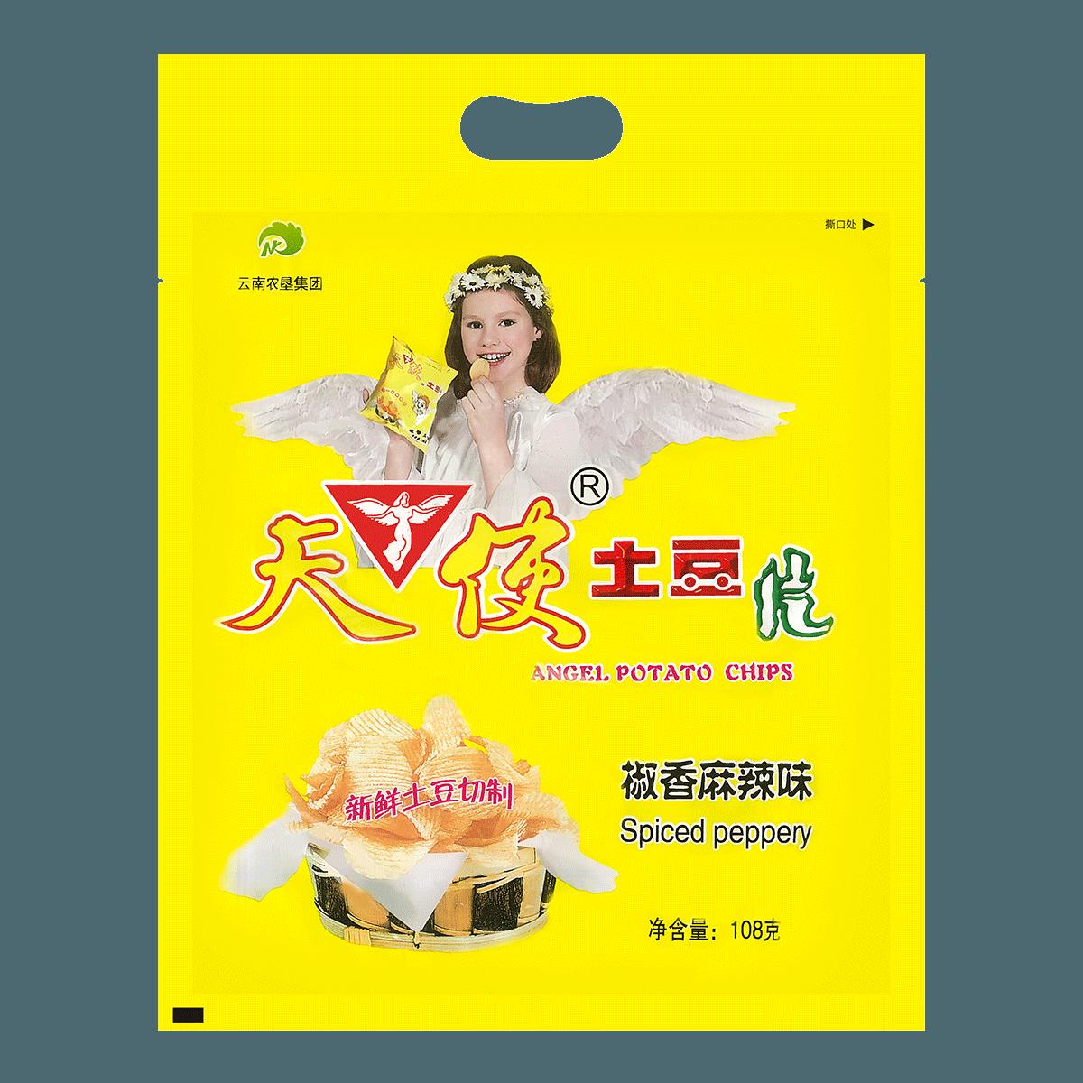 ANGEL Potato Chips Spicy Flavor 108g