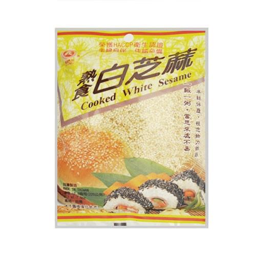 台湾义峰熟食白芝麻 220g