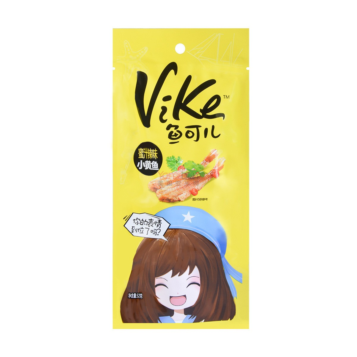 ROFEEL VIKE Little Yellow Croaker Honey Spicy 32g