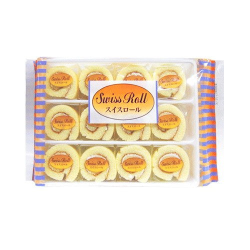 DAISHO Baked Cake Swiss Roll 12pc