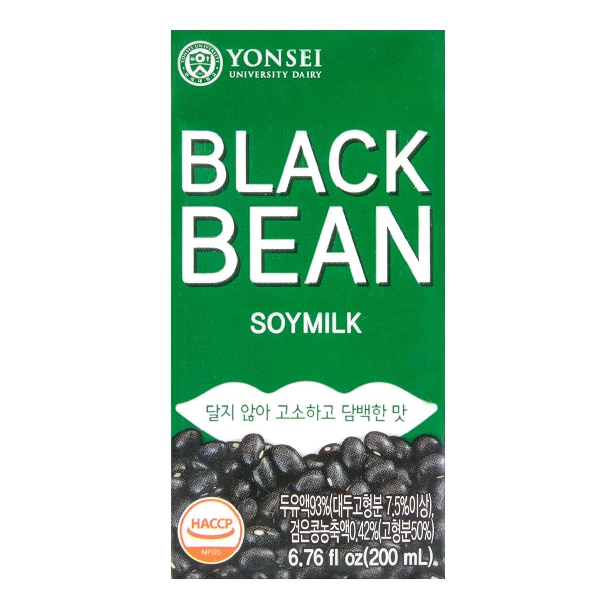 YONSEI Black Soybean Milk 200ml