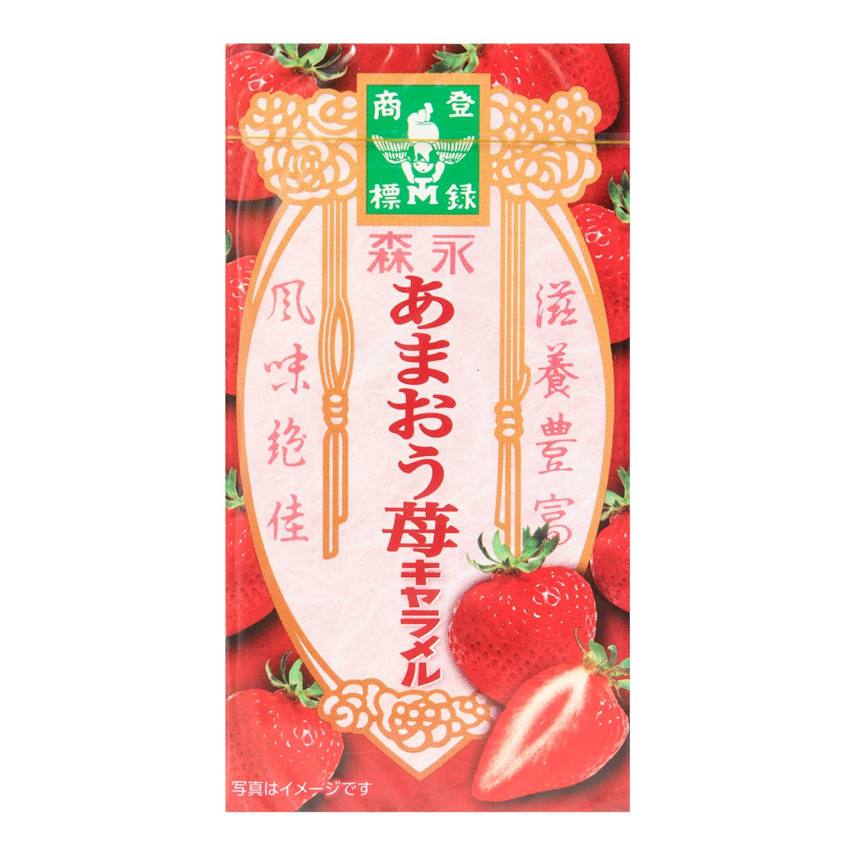 MORINAGA Amaou Strawberry Caramel 12pcs