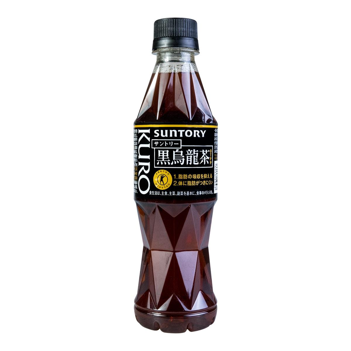 日本SUNTORY三得利 黑乌龙茶 350ml