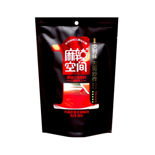 HOT SPACE Hot Pot Soup Base Spicy 320g