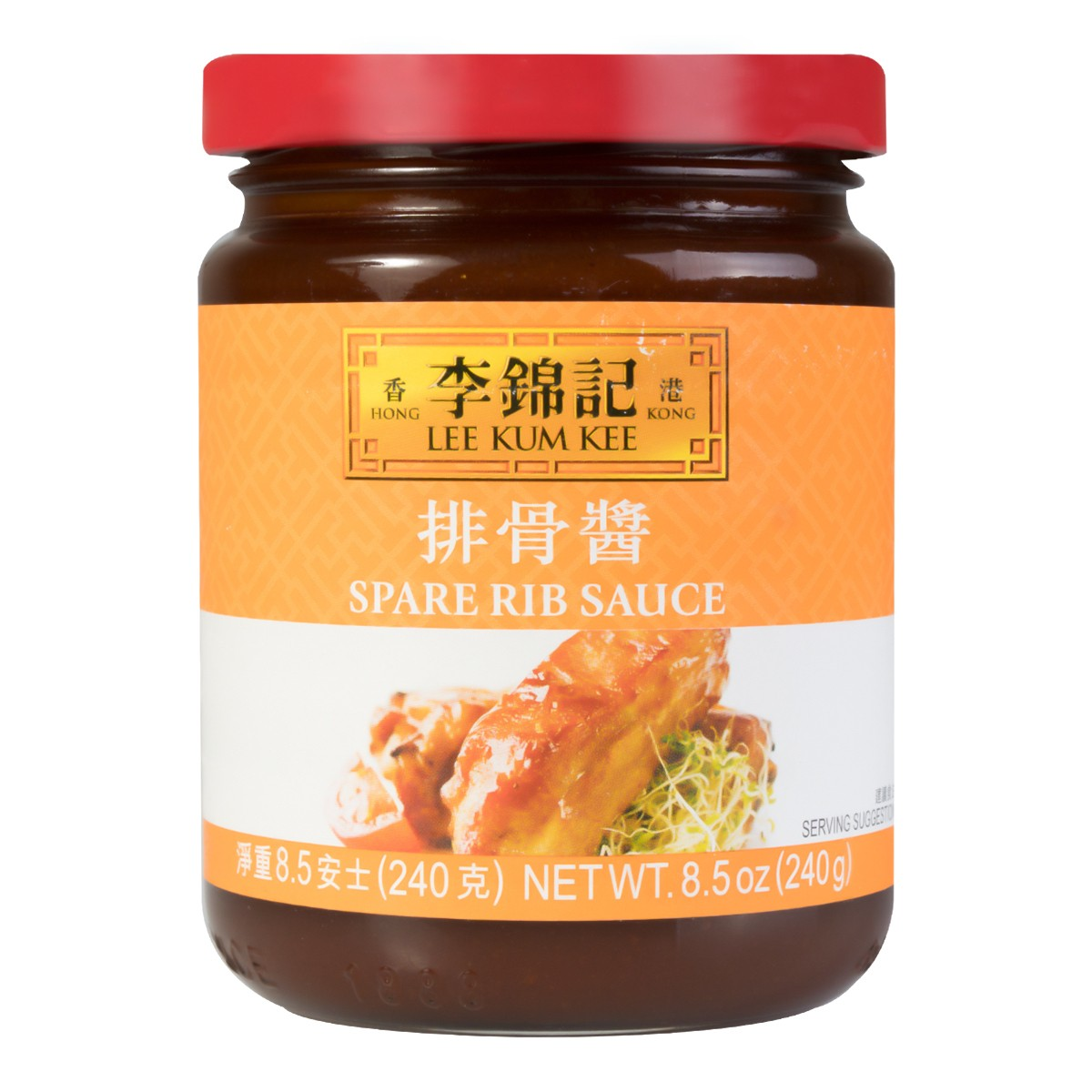 香港李锦记 排骨酱 240g