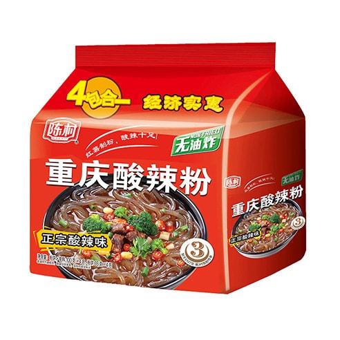 陈村 非油炸重庆酸辣粉 正宗酸辣味 4包入