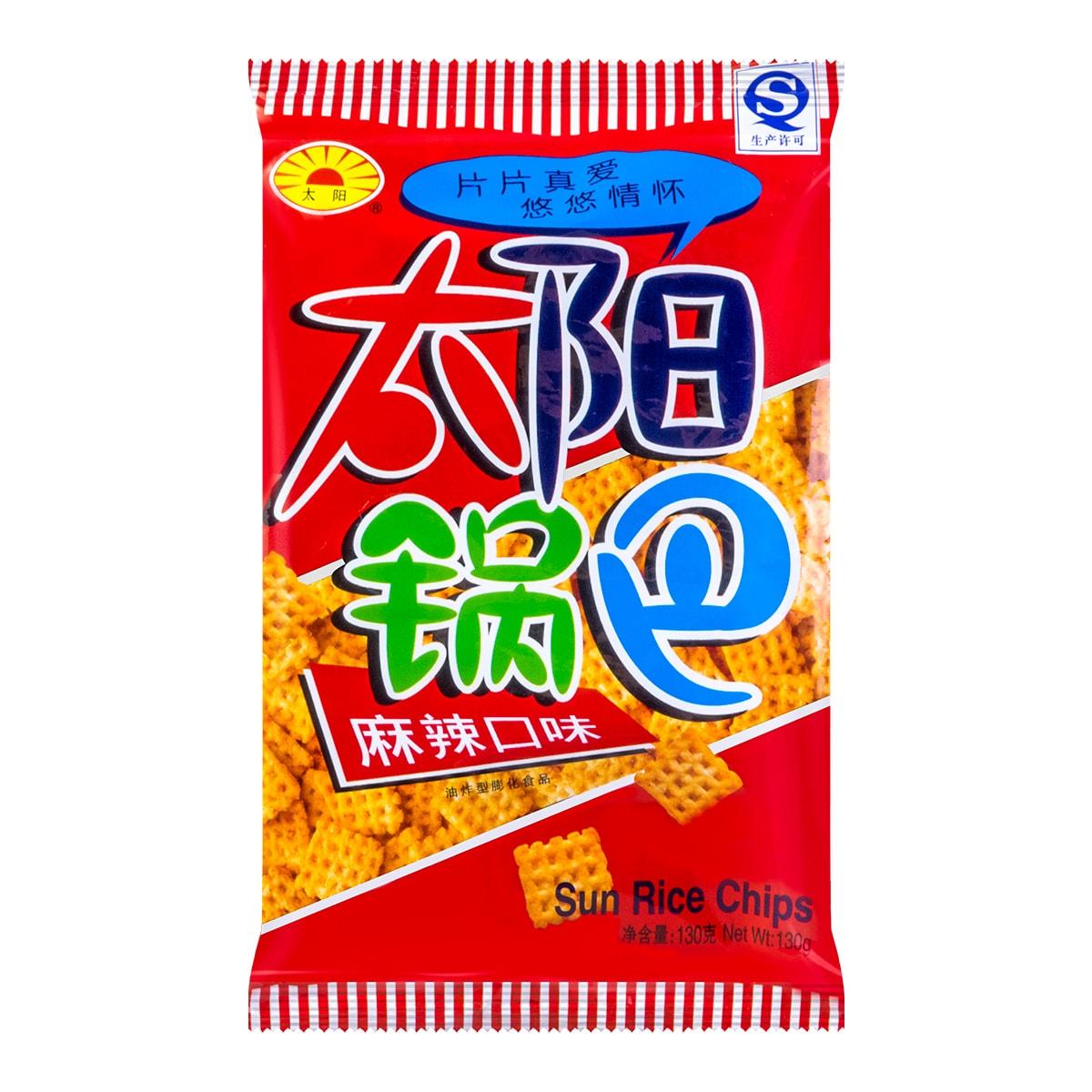 太阳锅巴 麻辣味 130g