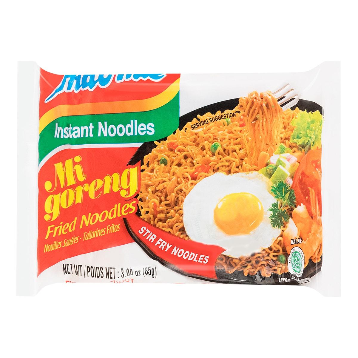 印尼营多 原味干捞面 85g 世界十大最好吃泡面